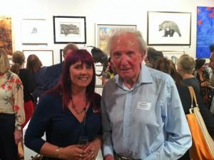 Me with David Shepherd CBE