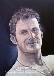 Painting of Mark, by Mandi Baykaa-Murray