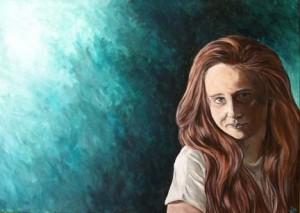 Portrait of Xixi by Mandi Baykaa-Murray.
